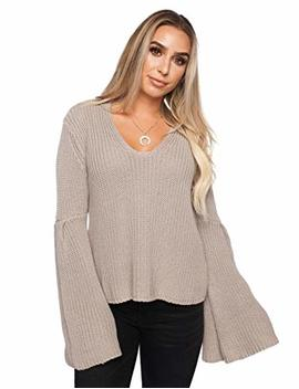 Viera Sweater  Taupe by Buddy Love