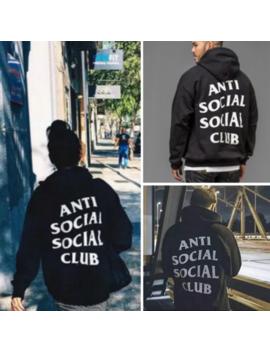 Anti Social Social Club Hoodie Men&Women Hoodie Adults Long Sleeve Sweatershirt by Iconhunt