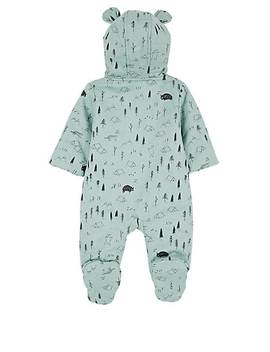 Infants' Expedition Print Cotton Snowsuit by Red Caribou