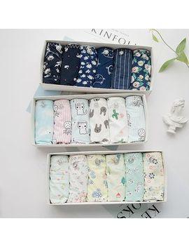 Meoko   Set Of 6: Print Panties by Meoko