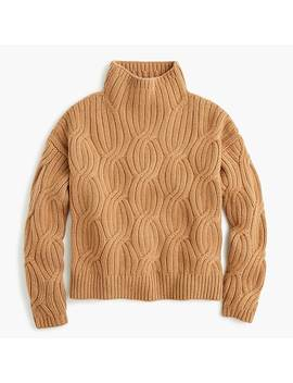 Collection Cashmere Cable Knit Turtleneck by J.Crew