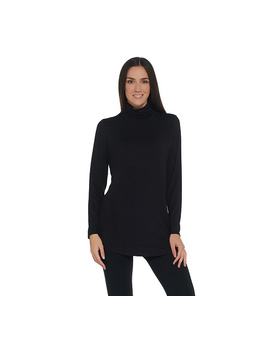 Belle By Kim Gravel Ruched Turtleneck Tunic by Qvc