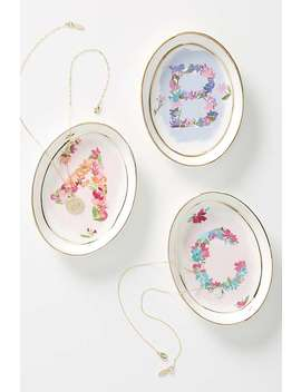 Monogram Trinket Dish by Kiana Mosley