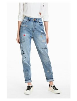 Lettering  Jeans by Desigual