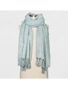 Women's Oversized Oblong Tassels Scarf   Universal Thread™ by Universal Thread™
