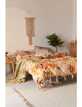 Mandee Chintz Knot Duvet Cover by Urban Outfitters