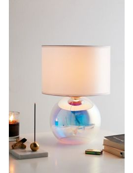 Iridescent Globe Table Lamp by Urban Outfitters