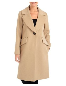 Single Breasted Wool Trench Coat by Rachel Rachel Roy