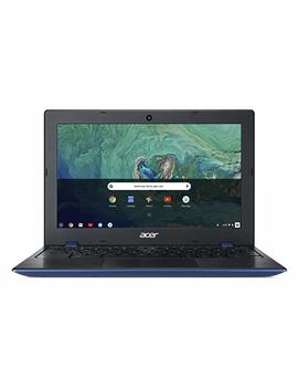 "Acer Chromebook 11 Cb311 8 H C5 Dv, Celeron N3350, 11.6"" Hd, 4 Gb Lpddr4, 32 Gb Storage, Indigo Blue by Acer"