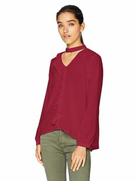 Jack Women's Tell Me More Textured Cdc Ruffle Top by Jack