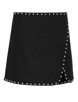 Studded Mini Skirt by Helmut Lang