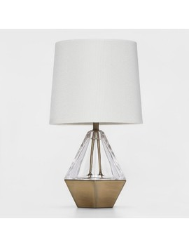 Acrylic Prism Accent Table Lamp Clear   Project 62™ by Project 62™