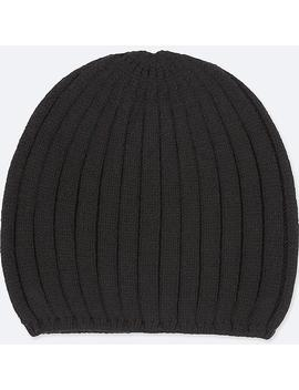 Women Heattech Knitted Beanie by Uniqlo