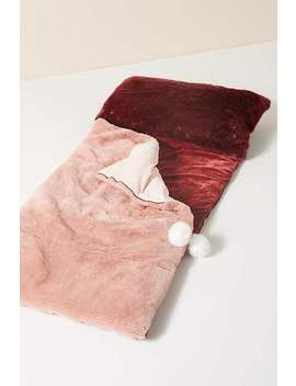 Faux Fur Sleeping Bag by Anthropologie