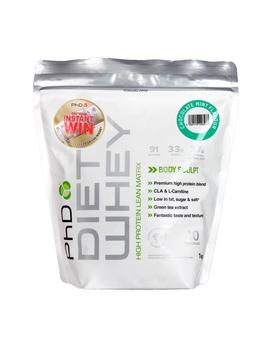 Ph D Diet Whey Powder Chocolate Mint 1000g by Ph D Diet Whey Powder Chocolate Mint 1000g
