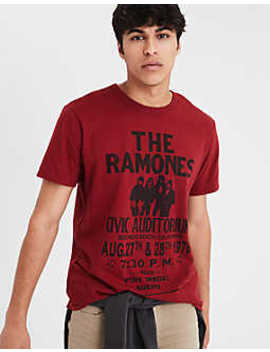 Ae The Ramones Graphic Tee by American Eagle Outfitters