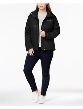 Plus Size Gotcha Groovin Water Resistant Jacket by Columbia