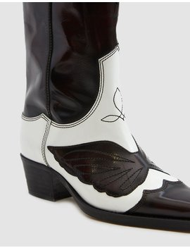 Marlyn Tall Cowboy Boot by Ganni