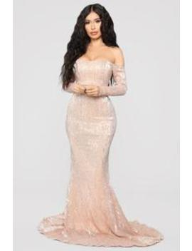 Got Class Sequin Dress   Rose by Fashion Nova