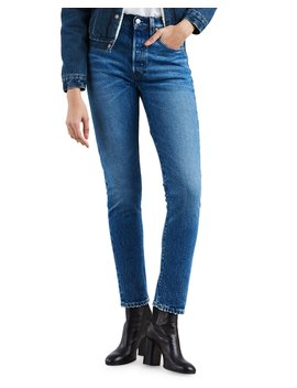 501 High Rise Ankle Skinny Jeans by Levi's Premium
