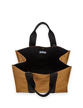 Wool Flannel Tote Bag by Rue De Verneuil