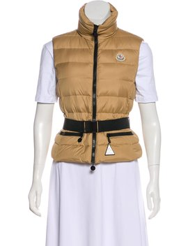 Sleeveless Down Vest by Moncler