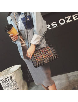 Womens Shoulder Bag Luxury Pu Leather Chain Messenger Handbag Crossbody Bags by Unbranded