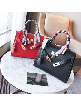2018 Scarf Handbag Women Shoulder Bags Luxury Handbags Large Capacity Tote Sac by Unbranded