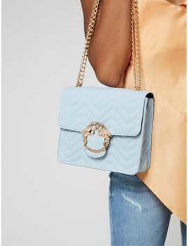 Blue Flamingo Clasp Cross Body by Skinnydip