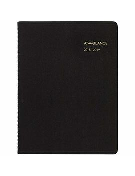 At A Glance 2018 2019 Academic Year Weekly Planner/Appointment Book, Large, 8 1/4 X 10 7/8, Black (7095705) by At A Glance