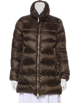 Long Sleeve Down Puffer Jacket by Moncler