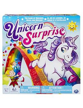 Unicorn Surprise – Board Game With An Interactive Magical Unicorn by Spin Master Games
