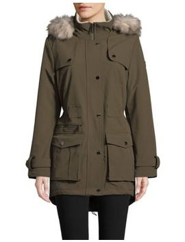 Hoden Softshell Hooded Jacket by Dkny