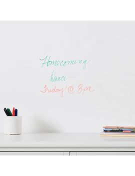 """Dry Erase Peel And Stick Nu Wallpaper™, 20""""X18' by P Bteen"""