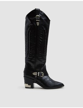 Western Boot In Black by Toga Pulla