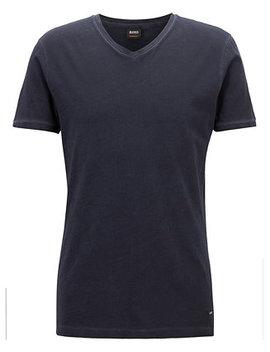 Boss Men's Regular/Classic Fit V Neck Cotton T Shirt by Hugo Boss