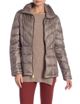 Quilted Down Jacket by Kenneth Cole New York