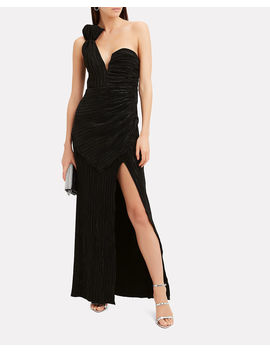Woman To Woman One Shoulder Gown by Alice Mc Call