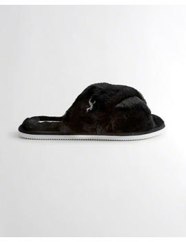 Faux Fur Slipper by Hollister