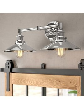 Trent Austin Design Acquah 2 Light Led Vanity Light & Reviews by Trent Austin Design