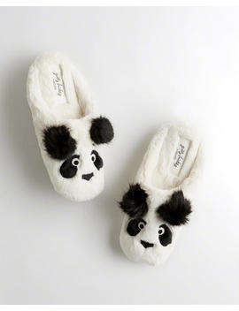 Panda Slipper by Hollister