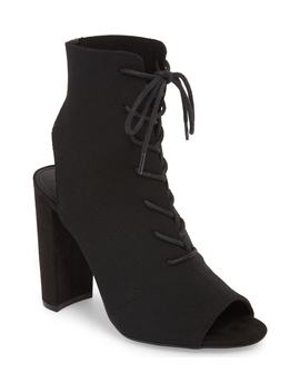 Capture Lace Up Sock Bootie by Steve Madden