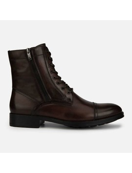 Hugh Cap Toe Lace Up Boot   Cognac by Kenneth Cole New York