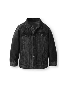 Wn Boys Denim Jacket by Wonder Nation