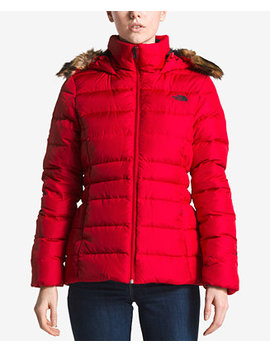Gotham Faux Fur Trimmed Jacket by The North Face