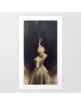 The Old Astronomer  Art Print by