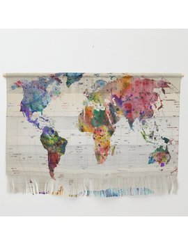 Map Wall Hanging by