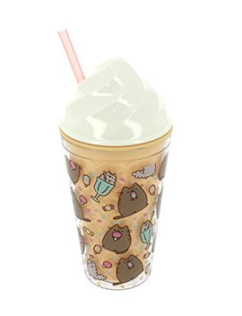 Blueprint Collections Ltd Pusheen Ice Cream Cup With Straw by Blueprint Collections Ltd