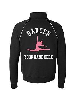 Custom Dance Jacket: Unisex Canvas Full Zip Track Jacket by Customized Girl