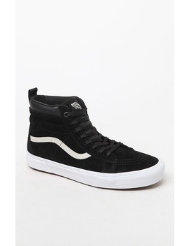 Vans Weatherized Sk8 Hi Mte Black Shoes by Vans